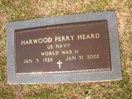 HEARD (VETERAN WWII), HARWOOD PERRY - Union County, Arkansas | HARWOOD PERRY HEARD (VETERAN WWII) - Arkansas Gravestone Photos