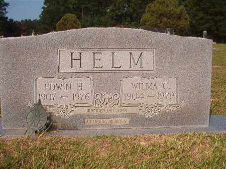 HELM, EDWIN H - Union County, Arkansas | EDWIN H HELM - Arkansas Gravestone Photos