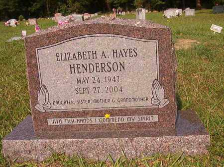 HENDERSON, ELIZABETH A - Union County, Arkansas | ELIZABETH A HENDERSON - Arkansas Gravestone Photos