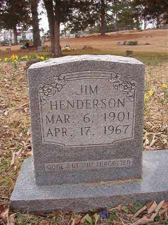 HENDERSON, JIM - Union County, Arkansas | JIM HENDERSON - Arkansas Gravestone Photos