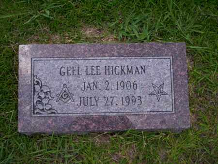 HICKMAN, GEEL LEE - Union County, Arkansas | GEEL LEE HICKMAN - Arkansas Gravestone Photos