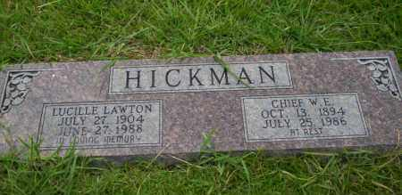 HICKMAN, LUCILLE - Union County, Arkansas | LUCILLE HICKMAN - Arkansas Gravestone Photos
