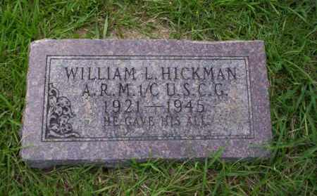 HICKMAN, WILLIAM L - Union County, Arkansas | WILLIAM L HICKMAN - Arkansas Gravestone Photos