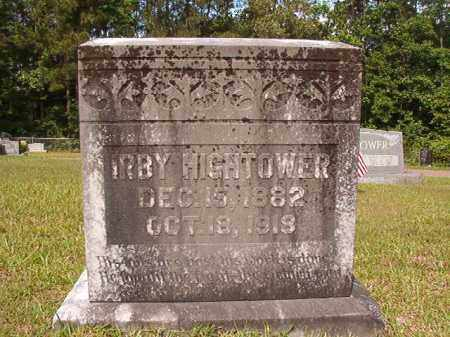 HIGHTOWER, IRBY - Union County, Arkansas | IRBY HIGHTOWER - Arkansas Gravestone Photos