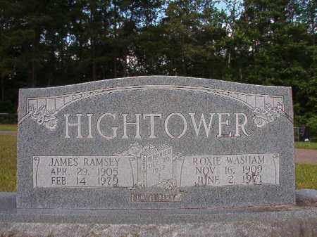 WASHAM HIGHTOWER, ROXIE - Union County, Arkansas | ROXIE WASHAM HIGHTOWER - Arkansas Gravestone Photos