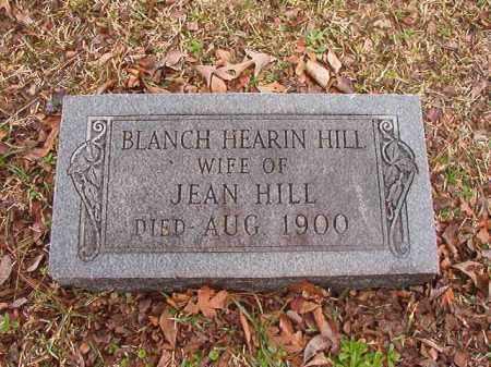 HEARIN HILL, BLANCH - Union County, Arkansas | BLANCH HEARIN HILL - Arkansas Gravestone Photos