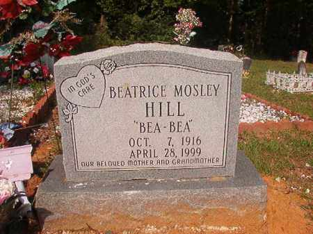 "MOSLEY HILL, BEATRICE ""BEA-BEA"" - Union County, Arkansas 