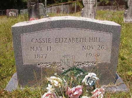 HILL, CASSIE ELIZABETH - Union County, Arkansas | CASSIE ELIZABETH HILL - Arkansas Gravestone Photos