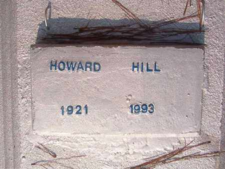 HILL, HOWARD - Union County, Arkansas | HOWARD HILL - Arkansas Gravestone Photos