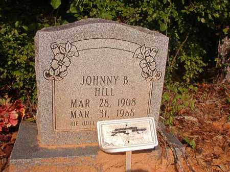 HILL, JOHNNY B - Union County, Arkansas | JOHNNY B HILL - Arkansas Gravestone Photos