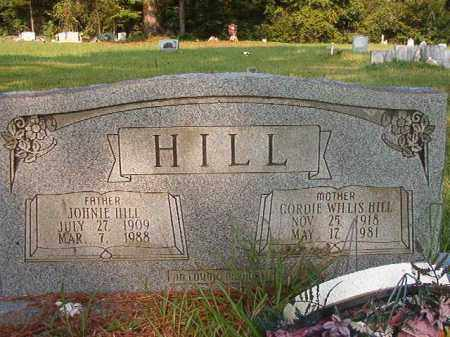HILL, GORDIE - Union County, Arkansas | GORDIE HILL - Arkansas Gravestone Photos