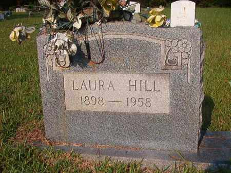 HILL, LAURA - Union County, Arkansas | LAURA HILL - Arkansas Gravestone Photos