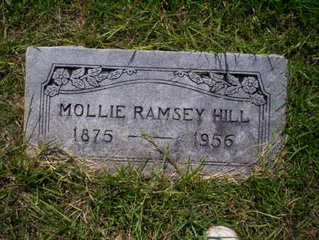 RAMSEY HILL, MOLLIE - Union County, Arkansas | MOLLIE RAMSEY HILL - Arkansas Gravestone Photos