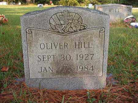 HILL, OLIVER - Union County, Arkansas | OLIVER HILL - Arkansas Gravestone Photos