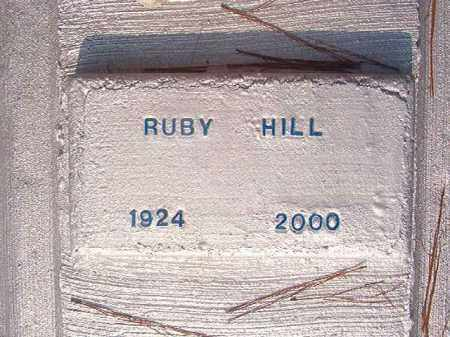 HILL, RUBY - Union County, Arkansas | RUBY HILL - Arkansas Gravestone Photos