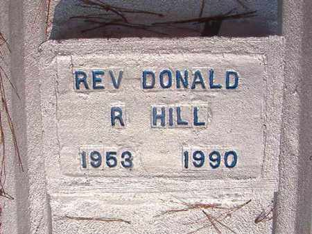 HILL, REV, DONALD R - Union County, Arkansas | DONALD R HILL, REV - Arkansas Gravestone Photos