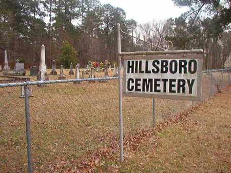 *HILLSBORO, CEMETERY - Union County, Arkansas | CEMETERY *HILLSBORO - Arkansas Gravestone Photos