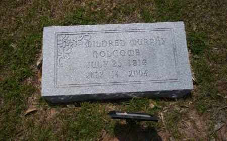 MURPHY HOLCOMB, MILDRED - Union County, Arkansas | MILDRED MURPHY HOLCOMB - Arkansas Gravestone Photos