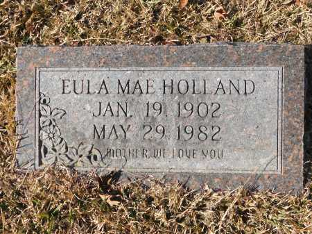 HOLLAND, EULA MAE - Union County, Arkansas | EULA MAE HOLLAND - Arkansas Gravestone Photos