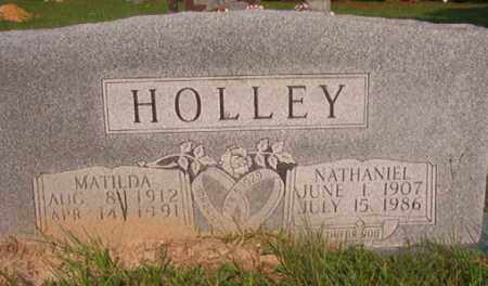 HOLLEY, NATHANIEL - Union County, Arkansas | NATHANIEL HOLLEY - Arkansas Gravestone Photos