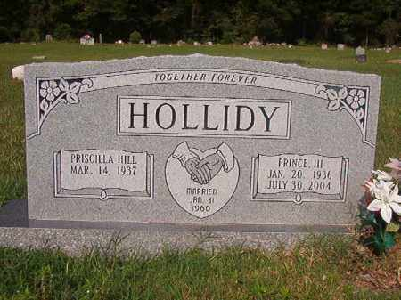 HOLLIDY, III, PRINCE - Union County, Arkansas | PRINCE HOLLIDY, III - Arkansas Gravestone Photos