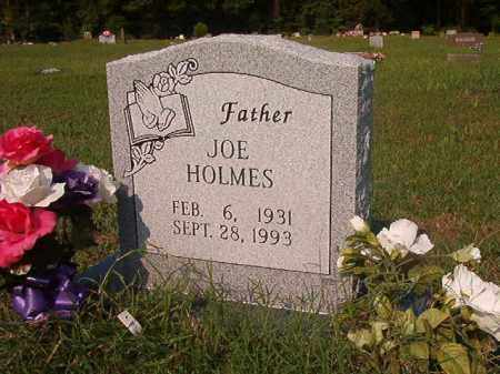 HOLMES, JOE - Union County, Arkansas | JOE HOLMES - Arkansas Gravestone Photos