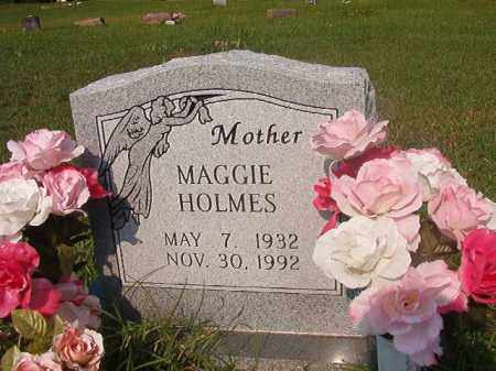 HOLMES, MAGGIE - Union County, Arkansas | MAGGIE HOLMES - Arkansas Gravestone Photos