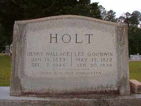 GOODWIN HOLT, LEE - Union County, Arkansas | LEE GOODWIN HOLT - Arkansas Gravestone Photos