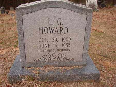 HOWARD, L G - Union County, Arkansas | L G HOWARD - Arkansas Gravestone Photos