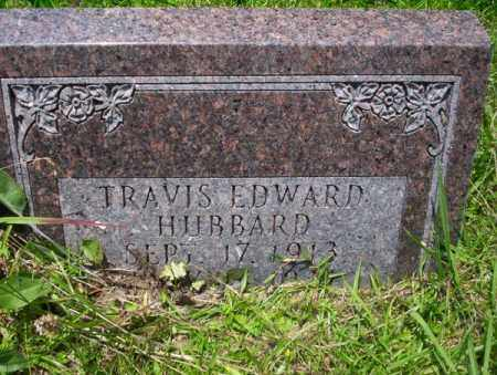 HUBBARD, TRAVIS EDWARD - Union County, Arkansas | TRAVIS EDWARD HUBBARD - Arkansas Gravestone Photos