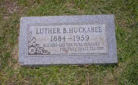 HUCKABEE, LUTHER B - Union County, Arkansas | LUTHER B HUCKABEE - Arkansas Gravestone Photos