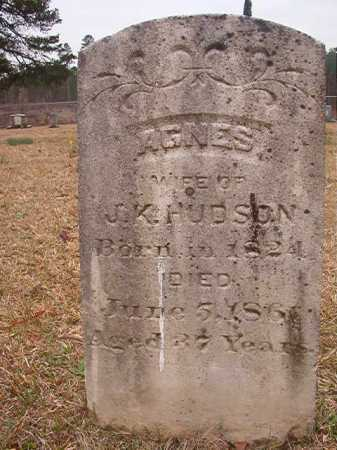 HUDSON, AGNES - Union County, Arkansas | AGNES HUDSON - Arkansas Gravestone Photos