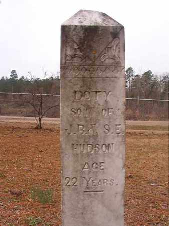 HUDSON, DOTY - Union County, Arkansas | DOTY HUDSON - Arkansas Gravestone Photos