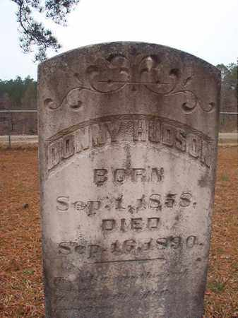 HUDSON, DONNY - Union County, Arkansas | DONNY HUDSON - Arkansas Gravestone Photos