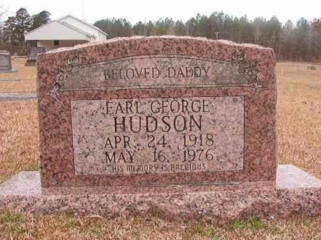 HUDSON, EARL GEORGE - Union County, Arkansas | EARL GEORGE HUDSON - Arkansas Gravestone Photos
