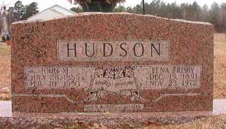 FRISBY HUDSON, LENA - Union County, Arkansas | LENA FRISBY HUDSON - Arkansas Gravestone Photos