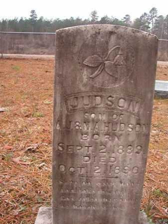 HUDSON, JUDSON - Union County, Arkansas | JUDSON HUDSON - Arkansas Gravestone Photos