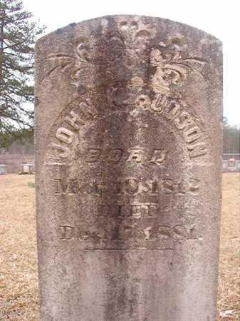 HUDSON, JOHN K - Union County, Arkansas | JOHN K HUDSON - Arkansas Gravestone Photos