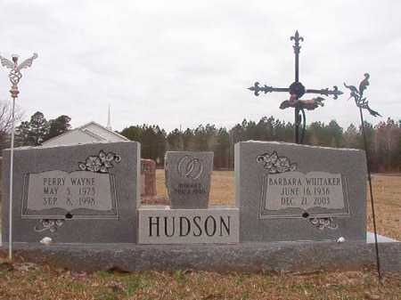 WHITAKER HUDSON, BARBARA - Union County, Arkansas | BARBARA WHITAKER HUDSON - Arkansas Gravestone Photos