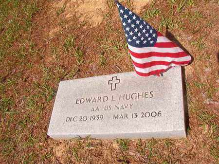 HUGHES (VETERAN), EDWARD L - Union County, Arkansas | EDWARD L HUGHES (VETERAN) - Arkansas Gravestone Photos