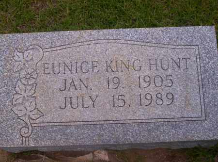 KING HUNT, EUNICE - Union County, Arkansas | EUNICE KING HUNT - Arkansas Gravestone Photos