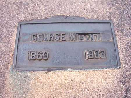 HUNT, GEORGE W - Union County, Arkansas | GEORGE W HUNT - Arkansas Gravestone Photos
