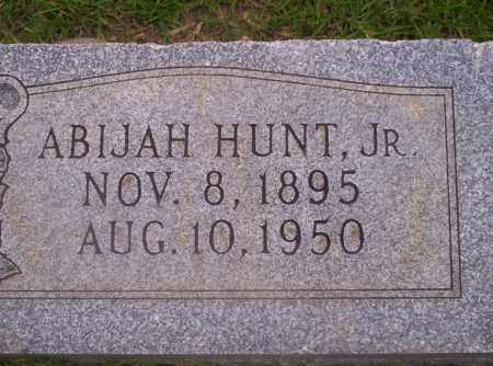 HUNT JR., ABIJAH - Union County, Arkansas | ABIJAH HUNT JR. - Arkansas Gravestone Photos