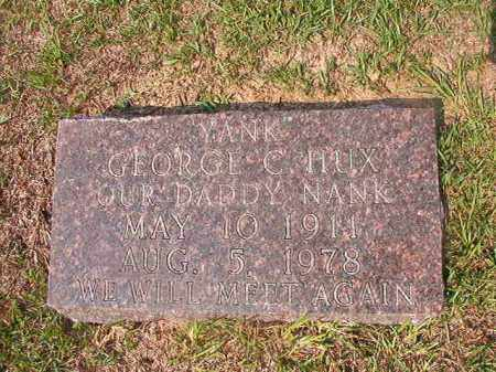 "HUX, GEORGE C ""YANK"" - Union County, Arkansas 