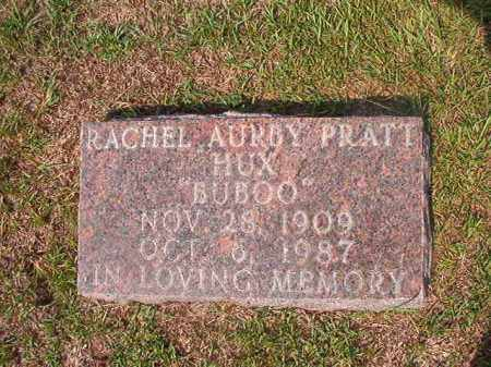 HUX, RACHEL AURBY - Union County, Arkansas | RACHEL AURBY HUX - Arkansas Gravestone Photos
