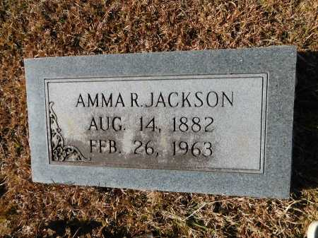 JACKSON, AMMA R - Union County, Arkansas | AMMA R JACKSON - Arkansas Gravestone Photos