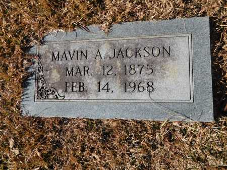 JACKSON, MAVIN A - Union County, Arkansas | MAVIN A JACKSON - Arkansas Gravestone Photos