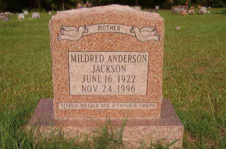 ANDERSON JACKSON, MILDRED - Union County, Arkansas | MILDRED ANDERSON JACKSON - Arkansas Gravestone Photos
