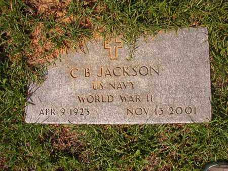 JACKSON (VETERAN WWII), C B - Union County, Arkansas | C B JACKSON (VETERAN WWII) - Arkansas Gravestone Photos