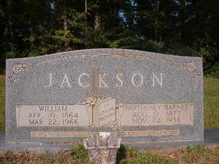 BARNES JACKSON, PARTHENEY - Union County, Arkansas | PARTHENEY BARNES JACKSON - Arkansas Gravestone Photos